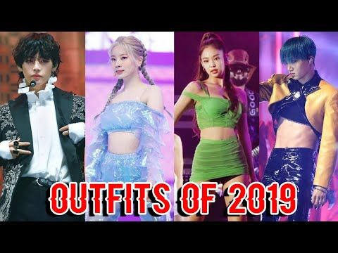 Most Iconic And Controversial Kpop Outfits Of 2019 Youtube Kpop Outfits Outfits Cool Outfits