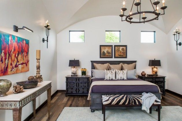 16 Elegant Mediterranean Bedrooms That You Wouldn T Want To Leave With Images Mediterranean Decor Mediterranean Interior Design Mediterranean Homes