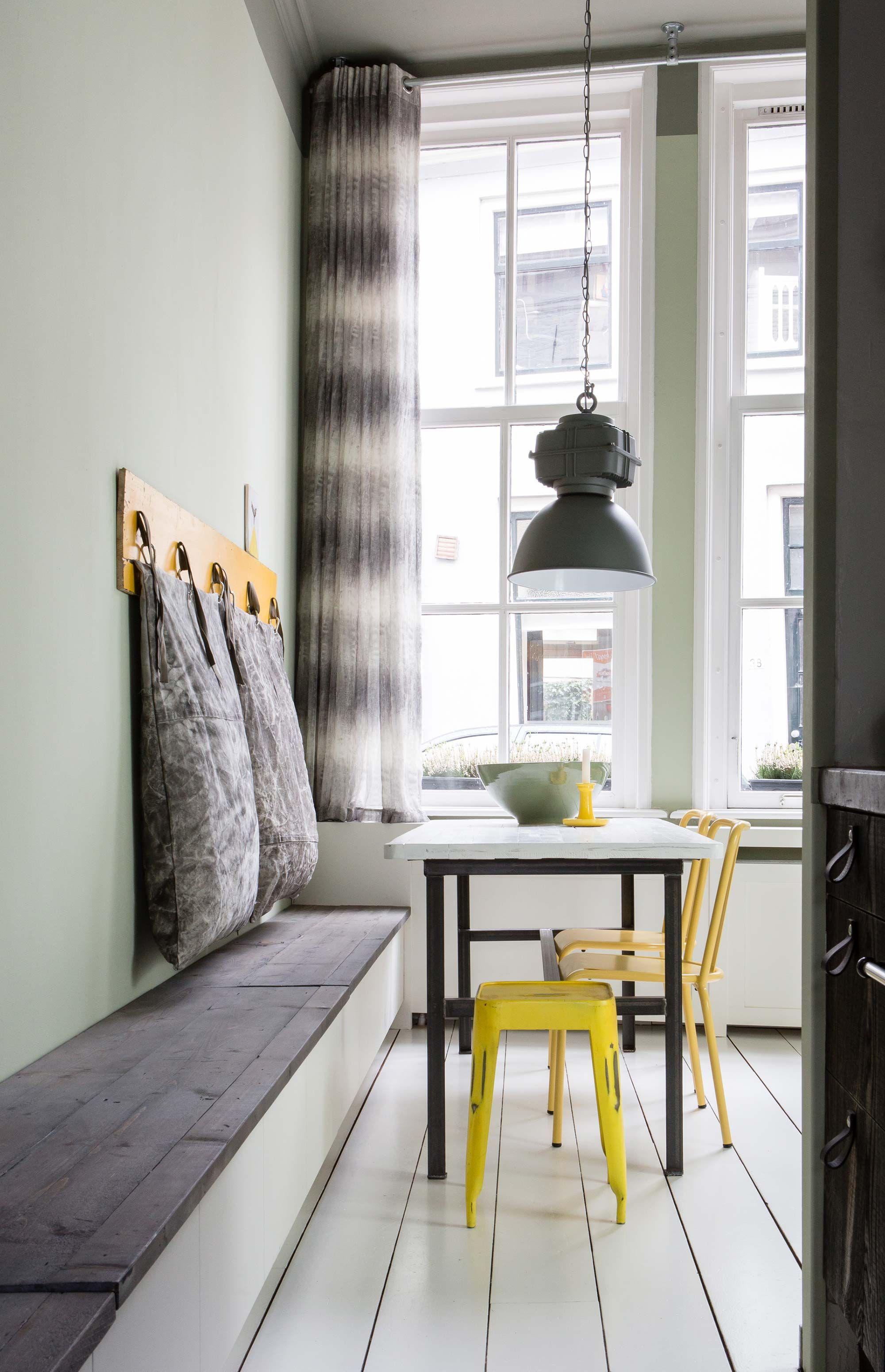 la m tamorphose d 39 un salon coin repas banc coffre. Black Bedroom Furniture Sets. Home Design Ideas