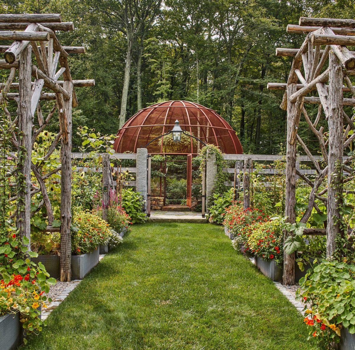 Haver & Skolnick Architects' Classic Kitchen Garden   Garden ...