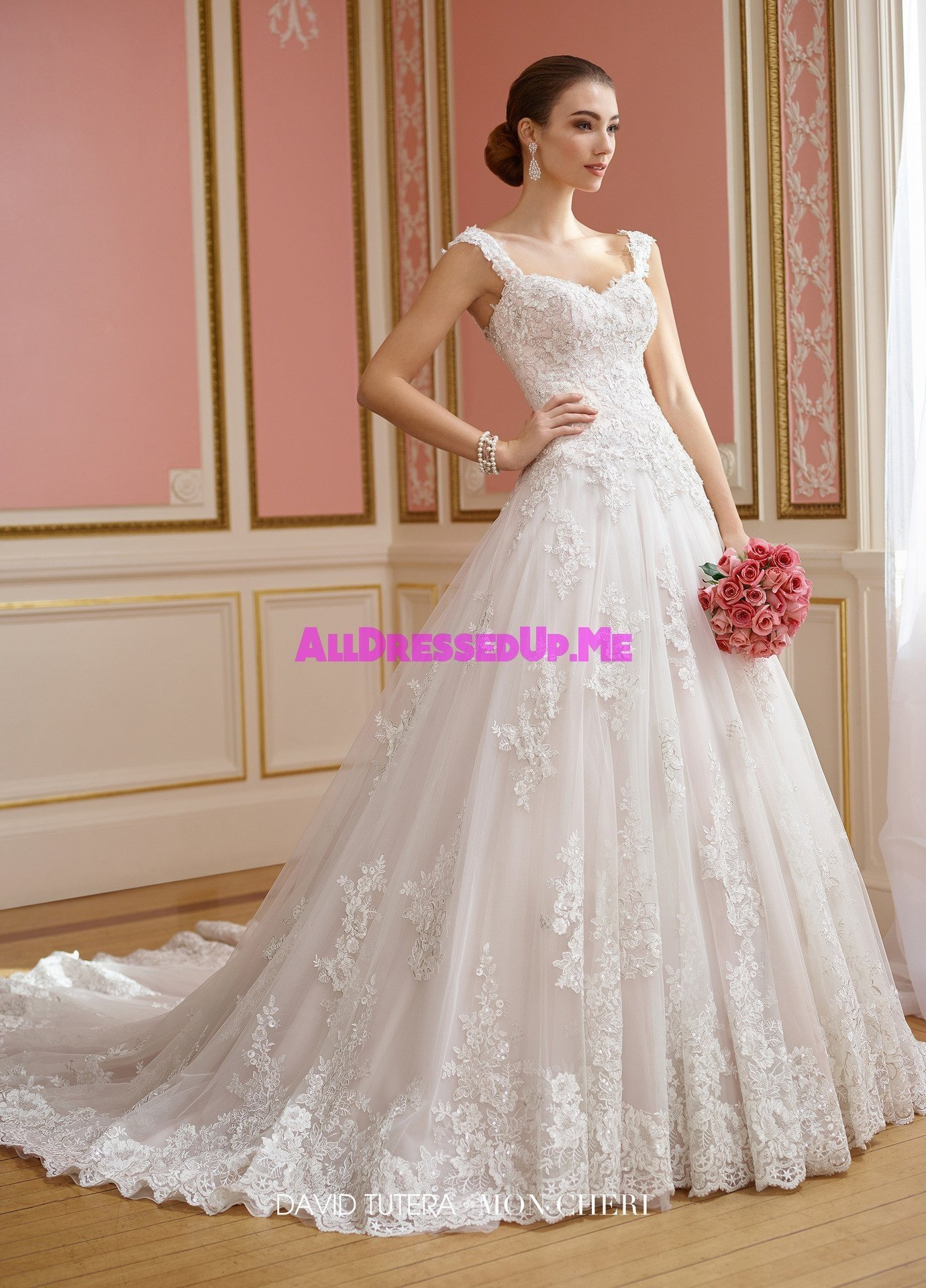 David Tutera 217210w Nellie All Dressed Up Bridal Gown Mon Cheri Wedding Gowns Dresses Chattanooga Hixson S Boutiques Tennessee Tn Georgia