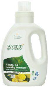 Seventh Generation Liquid Laundry 4x Geranium Blossom And Vanilla