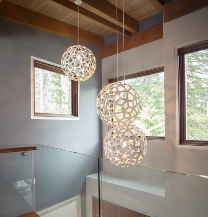 Clusters Of David Trubridge Lights Look Fantastic In Elongated Spaces. Play  With Shape, Size And Colour To Personalizse Your Space. #Coral | Pinterest  ...