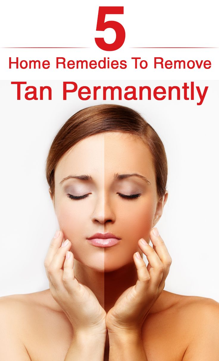 Top 36 Home Remedies To Remove Tan Permanently
