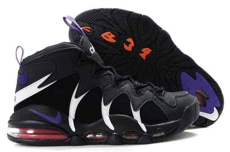 pretty nice 2fee9 10826 Black Purple Red Charles Barkley Shoes