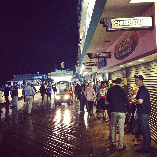 May 24,2013 Real Jersey Shore, Seaside getting ready for the Today Show