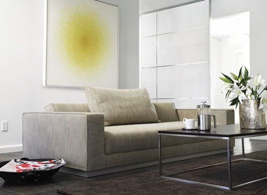 Modern Sofa Havana Sleeper Sofa Bed from DWR Product Review Apartment Therapy
