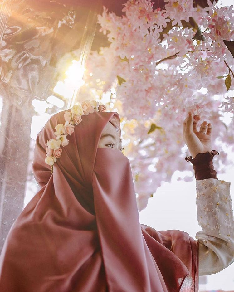 Картинка мусульманские девушки с надписями
