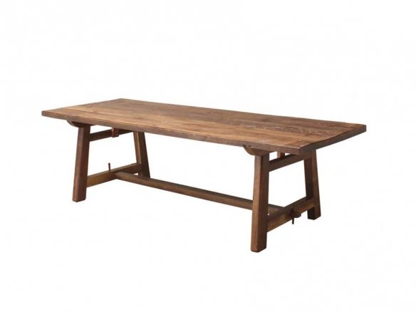 Large Patina Teak Refectory Table In 2020 Teak Table Teak Table