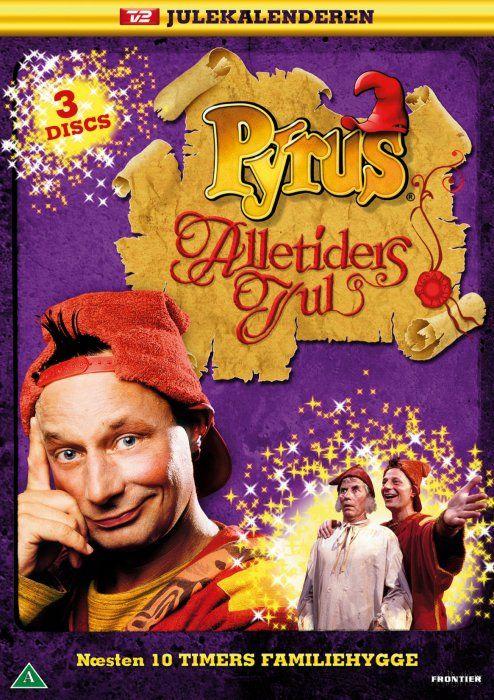Pyrus Alletiders Jul Tv2 Julekalender 1994 Dvd Tv Serie Billeder Dvd Skole