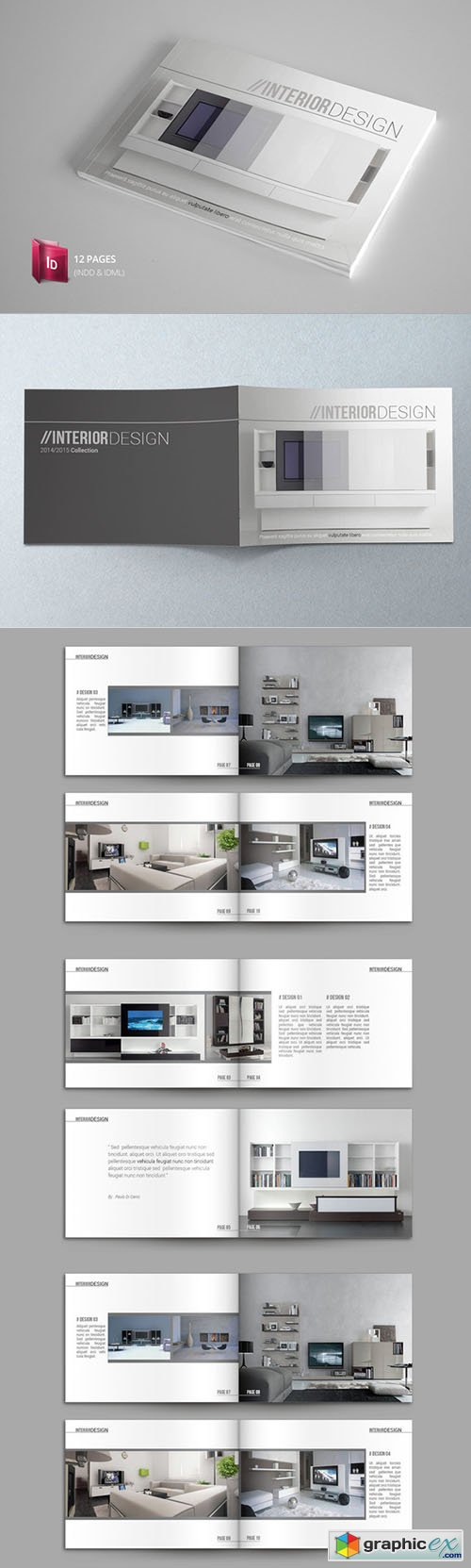 Indesign Catalogue Template | Template | Pinterest | Portafolio y ...