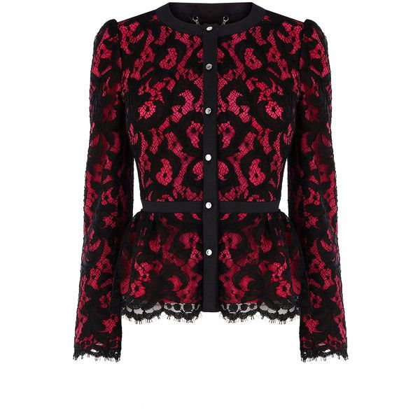 Lace collection jacket ❤ liked on Polyvore