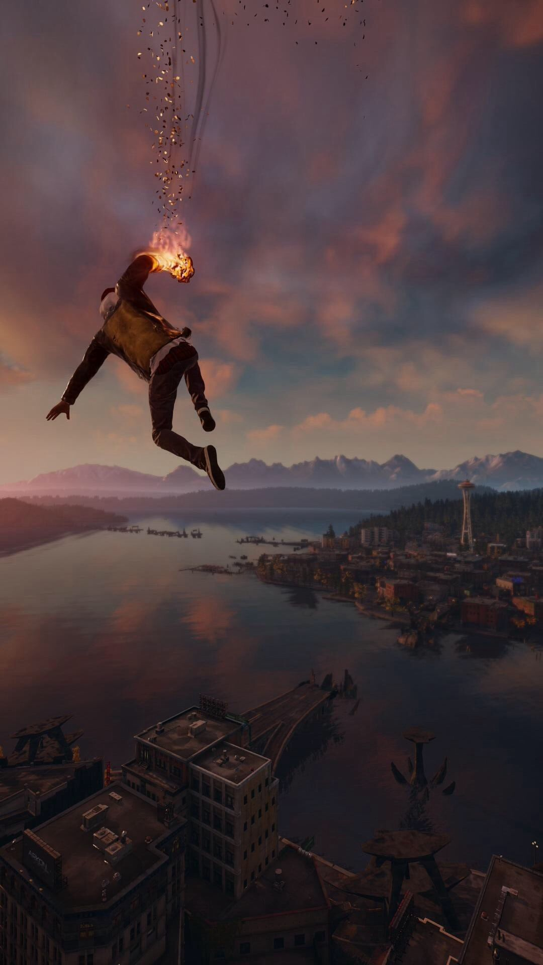 60 marvelous game iphone wallpapers for gamers | infamous second son