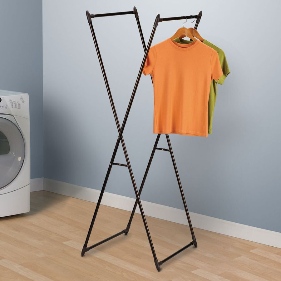 Household Essentials 1 Tier Metal Drying Rack 22w X 61h 64 Lowes