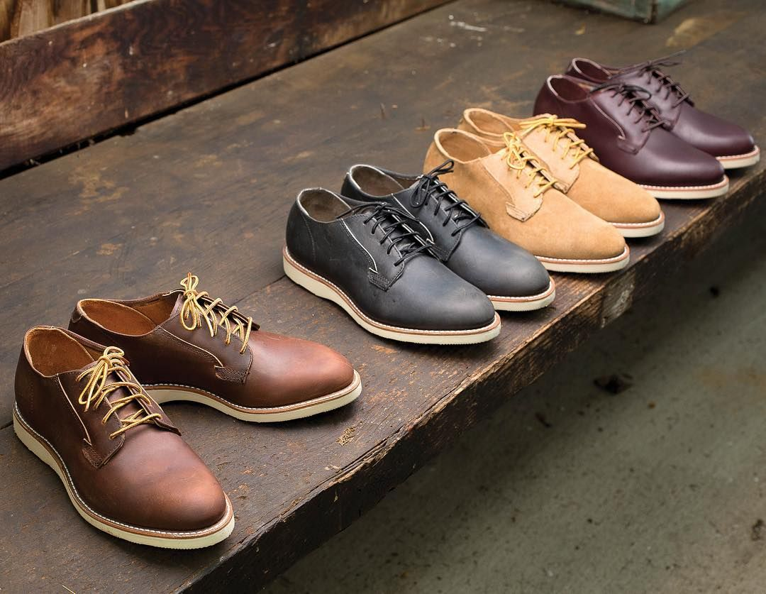 Red Wing Shoes - Red Wing Postman Shoes - Merlot Mesa k5BdT