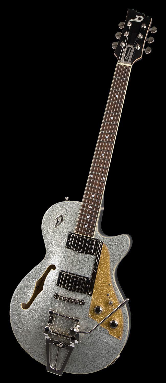 Duesenberg Guitars Starplayer Tv Silver Sparkle Music Guitar