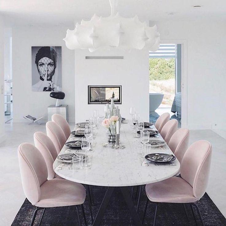 Maison Hadjou By Lilirose In 2020 House Interior Modern Dining