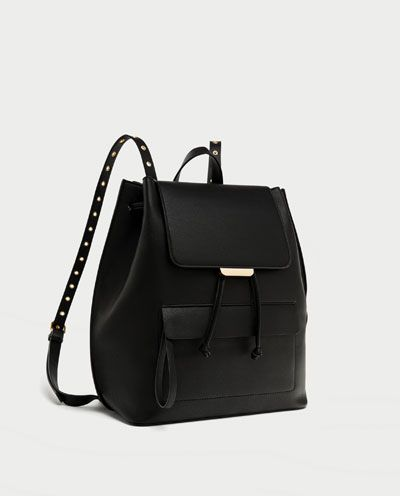 96fdaf7b51 BACKPACK WITH GROMMETS-Backpacks-BAGS-WOMAN | ZARA Hungary | want ...