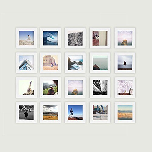 20 Set Tiny Mighty Frames Natural Wood Square Instag With Images 4x4 Photo Frame Diy Photo Wall Photo Wall