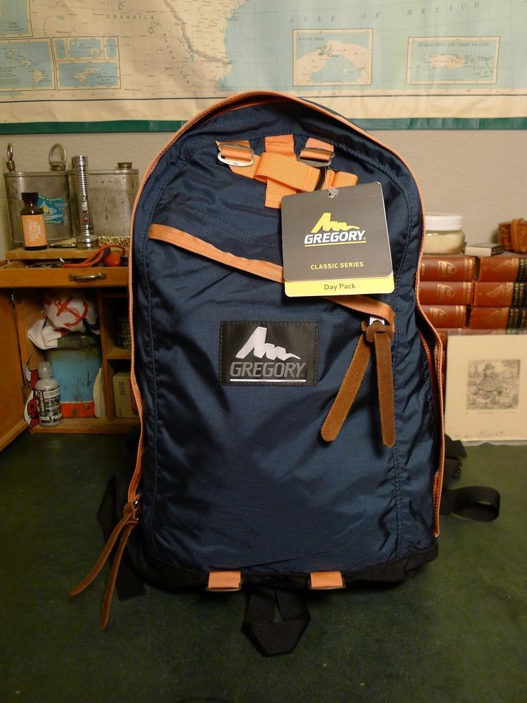 Gregory Day Pack Navy Salmon New With Tags Made In Usa Ebay
