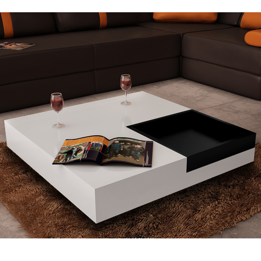 Buy Best White Table Salatto White Square Black Tray From Lovdock Com Buy Affordable And Quality C White Coffee Table Modern Coffee Table White Kitchen Table [ 1024 x 1024 Pixel ]