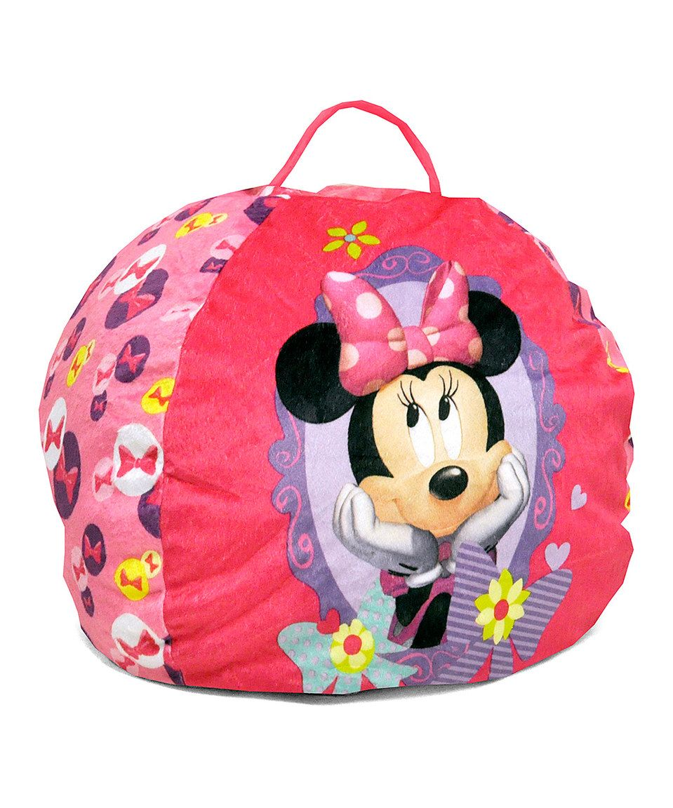 This Minnie Mouse Beanbag Chair By Minnies Bow Tique Is Perfect