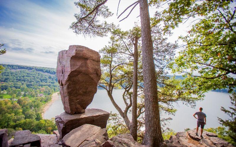 Image result for family hike devils lake