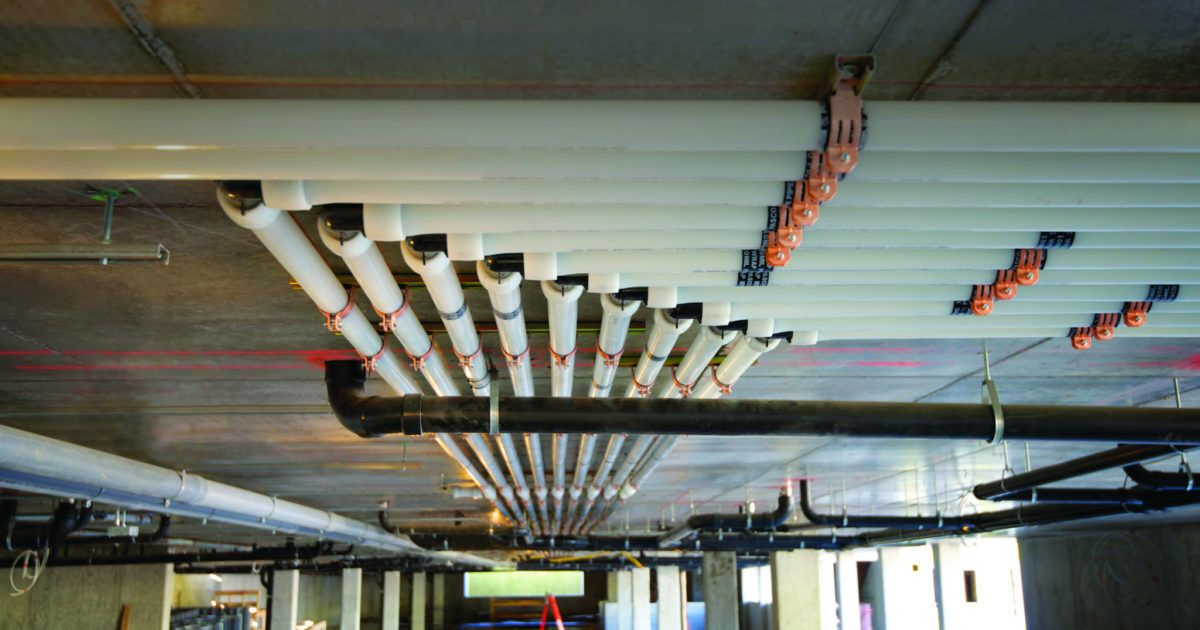 PEX is Changing the Commercial Plumbing Landscape