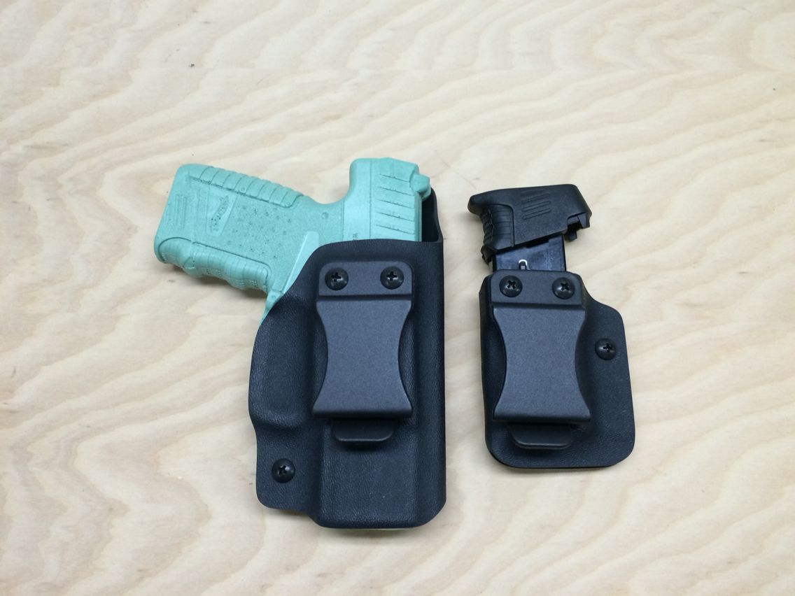 Walther PPS Kydex IWB holster and mag carrier heading to the