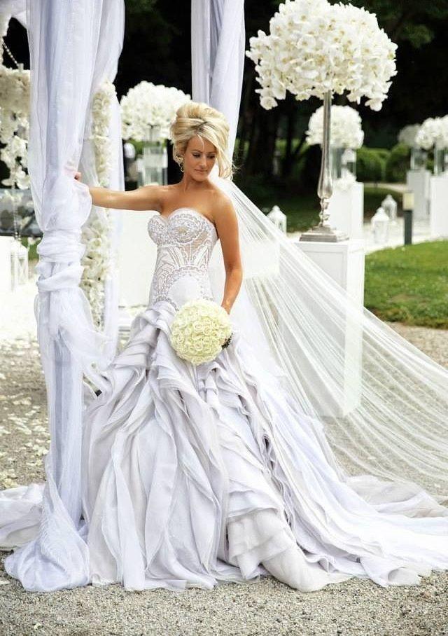 """reveriesofcinderella: """"J\'Aton Bridal """"   <BLOOMING BEAUTIES-HERE ..."""