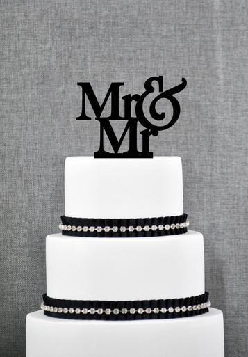 Mr Cake Topper From ThatGaySite Gay Wedding