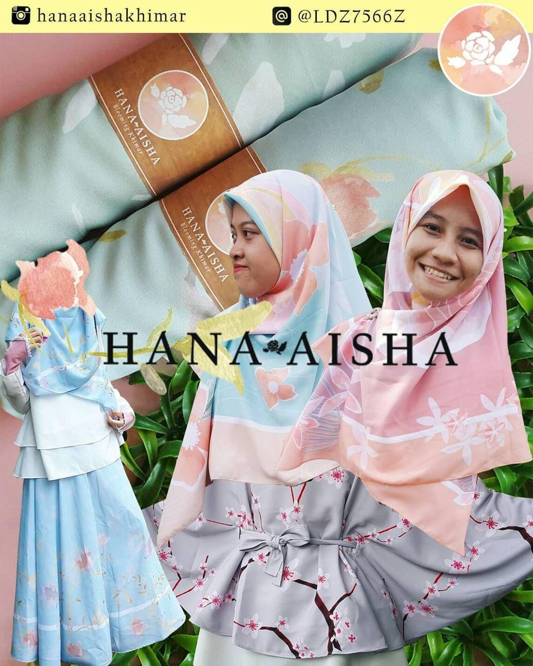 Assalamu Alaikum Shalihat Senang Motif Bunga Bunga Warna Warna Pastel Hana Aisha Memproduksi Sendiri Desain Motif Kainnya Moti Fashion Aisha Instagram