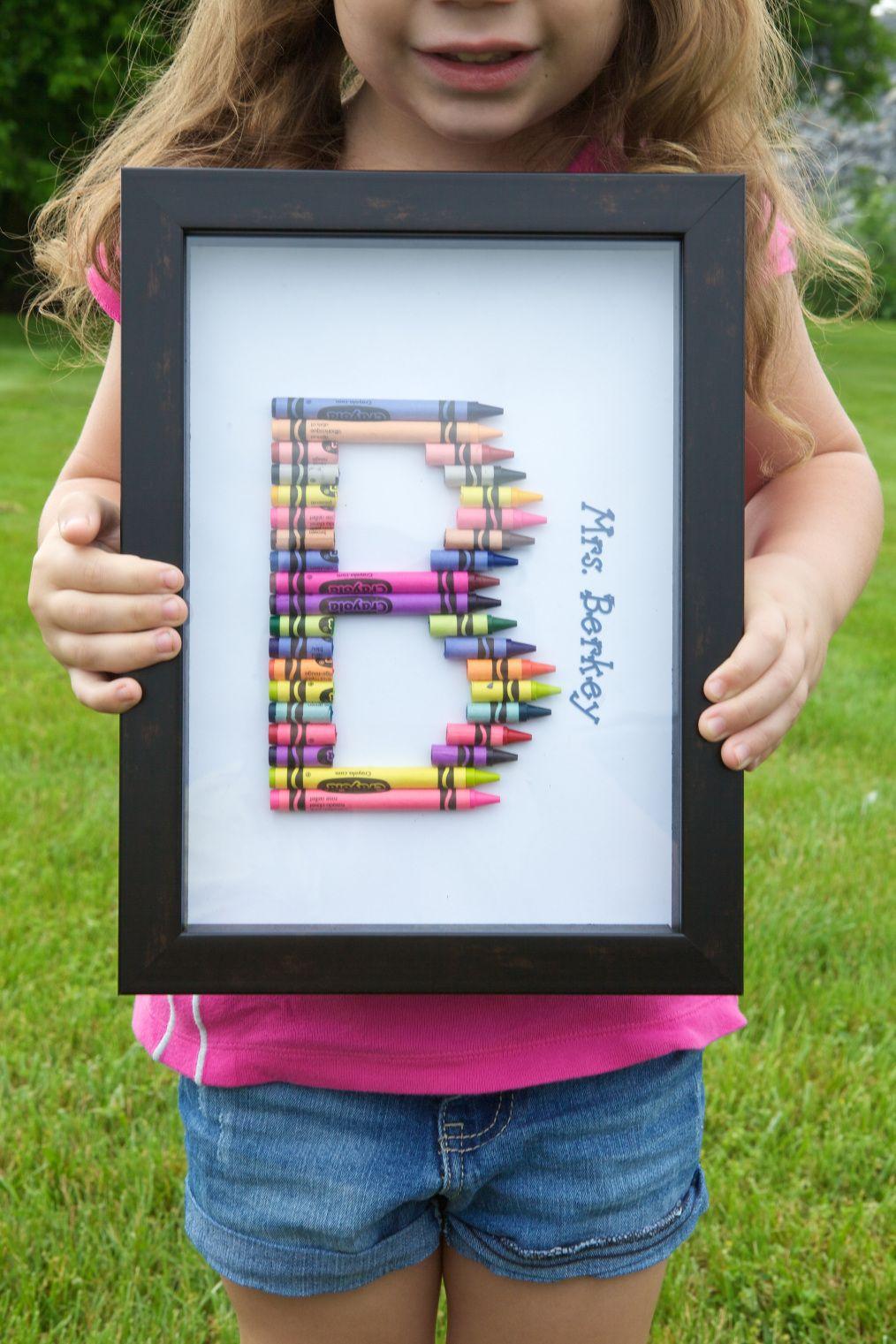 End of year Preschool Teacher gift idea Preschool