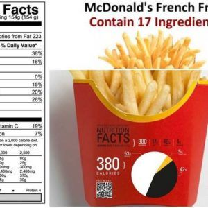 French Fries Nutrition   French fries recipe Air fryer ...