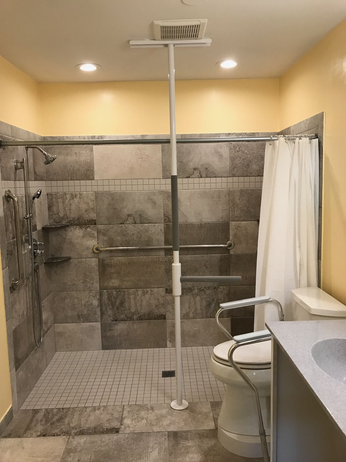 Wheelchair Accessible Shower #showers #accessibility | Wheelchair ...