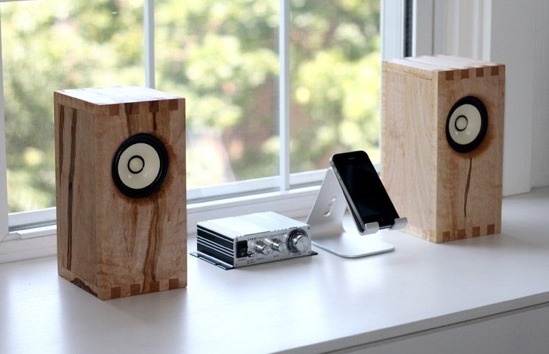 I Like The Way The Speakers Are Build Diy Bookshelf Speakers