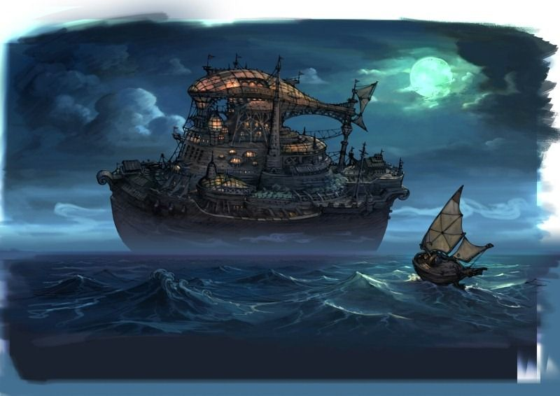 Post Gallery - Siliconera   Bravely default, Concept art gallery,  Environment design