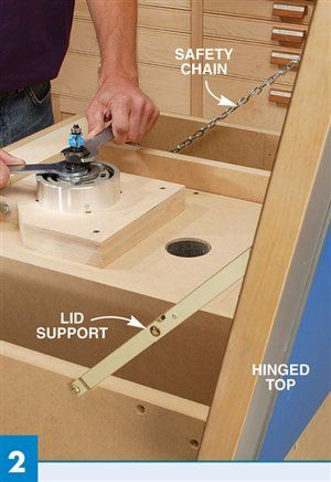 AW Extra 8/9/12 - Shop-Made Router Lift - Woodworking Projects - American Woodworker