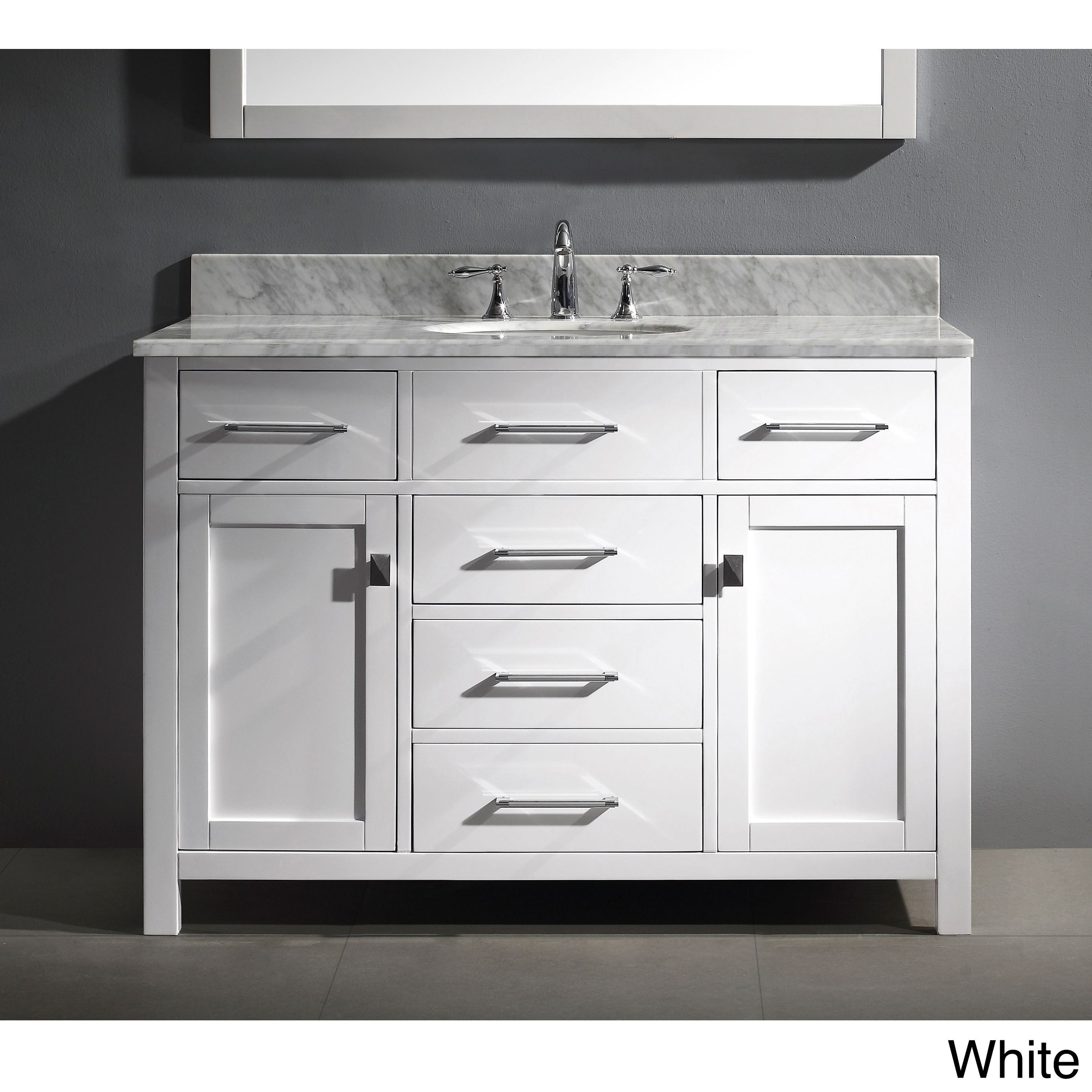 sink vanities adelina vanity single style a inch cottage bathroom white f