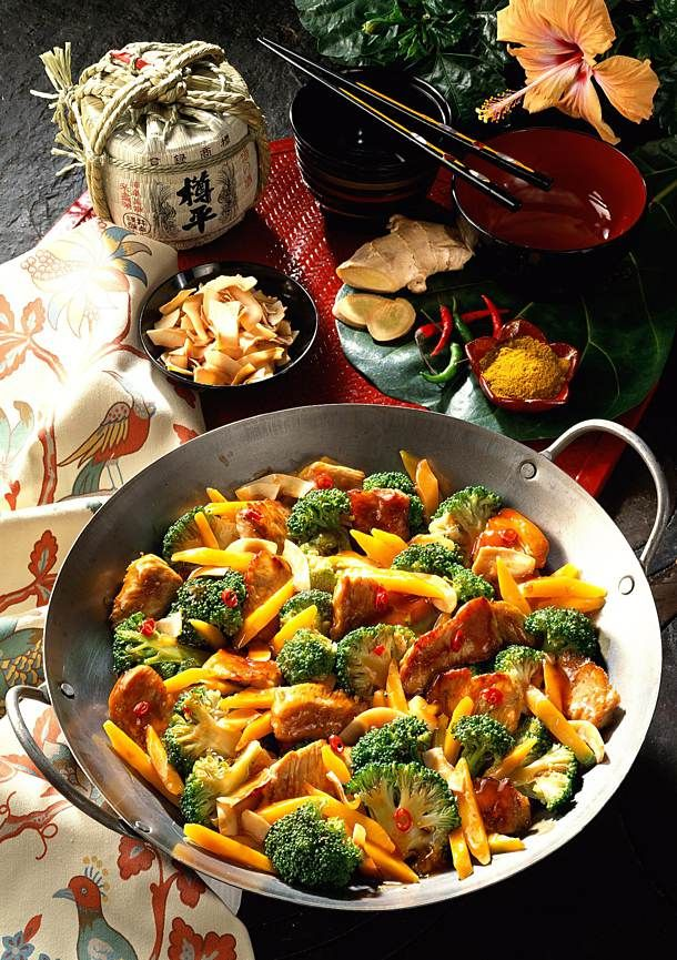 Broccoli-Möhren-Pfanne Rezept | LECKER