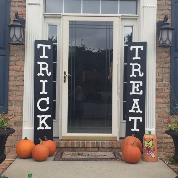 28+ Diy halloween porch signs inspirations