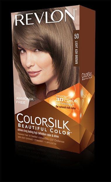 Colorsilk Beautiful Color Revlon 50 Light Ash Brown Beauty
