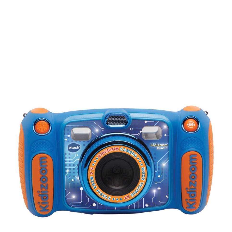 Kidizoom Duo 5 0 Blauw Blauw Camera Peuterspeelgoed