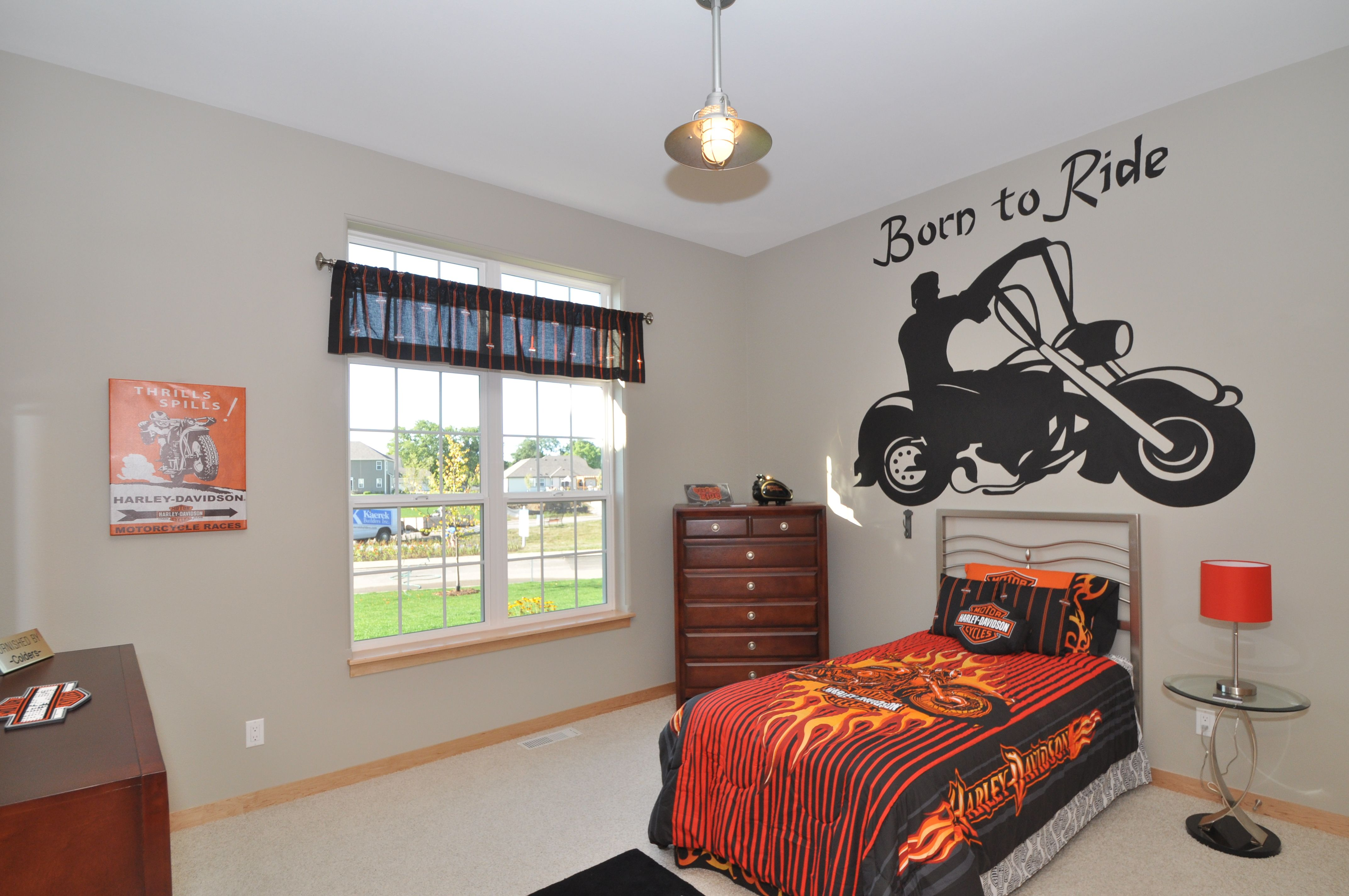 Harley Davidson Room Featured In The 2011
