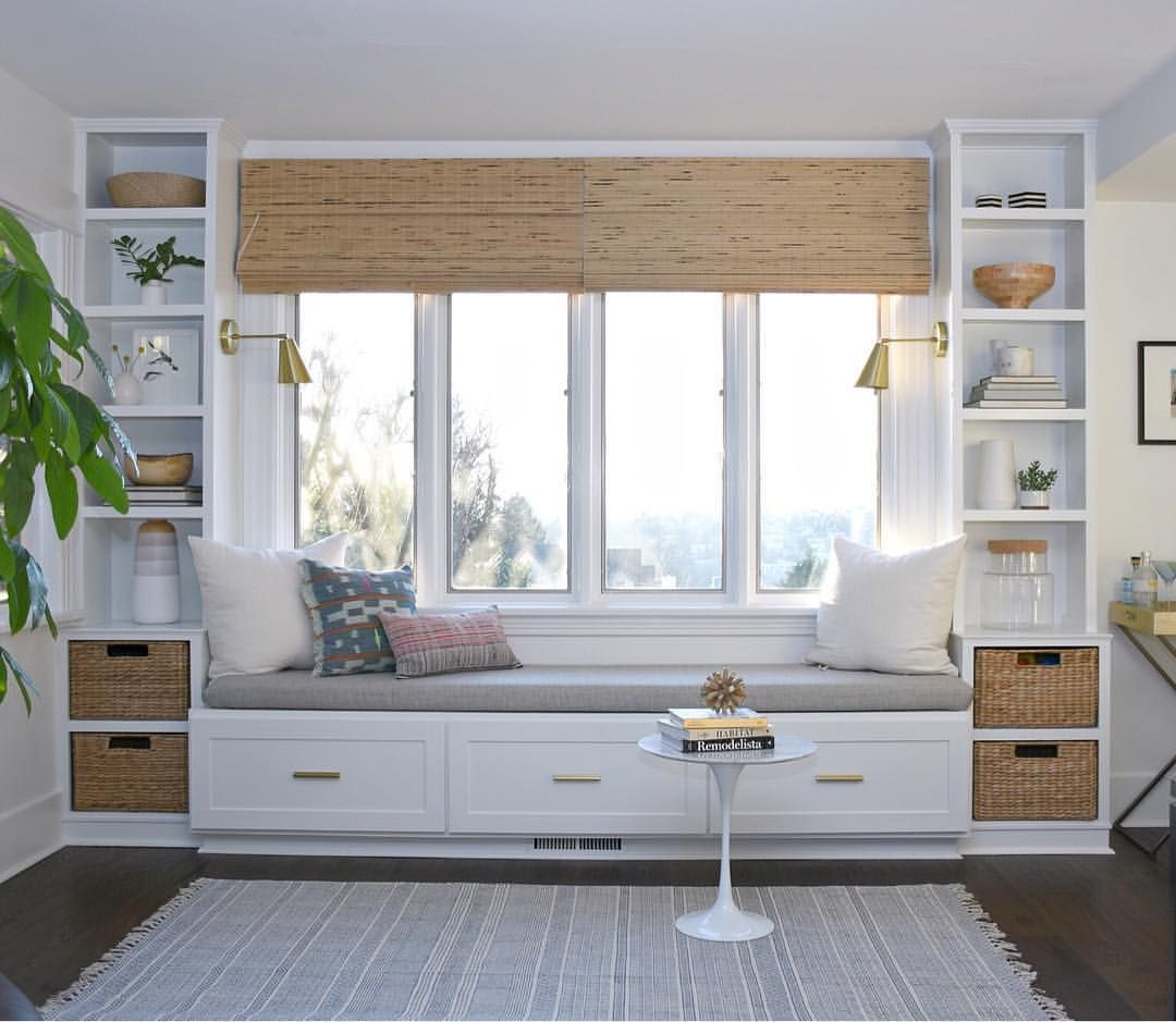 DIY Window Seat and Built-Ins: Project's Started