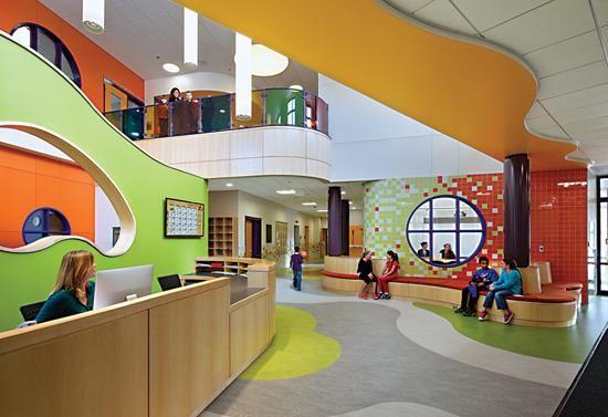 Kindergarten lobby design ile ilgili g rsel sonucu - Architecture and interior design schools ...