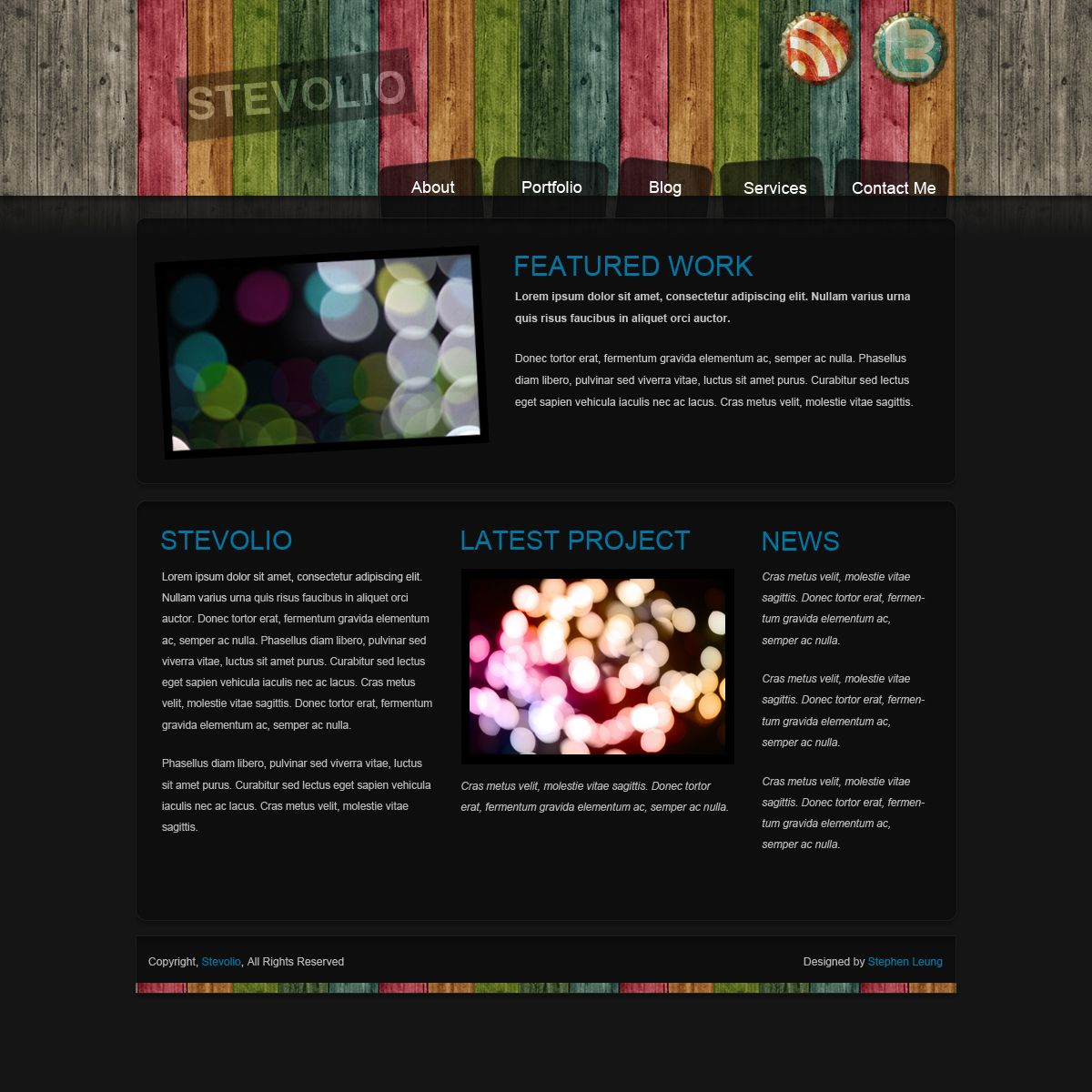 Web Design Portfolio Examples: Portfolio Website Layout Ideas - Google Search