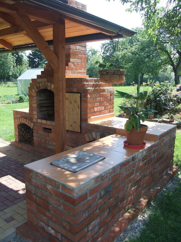 Best Diy Backyard Brick Barbecue Ideas2 Diy Outdoor Fireplace