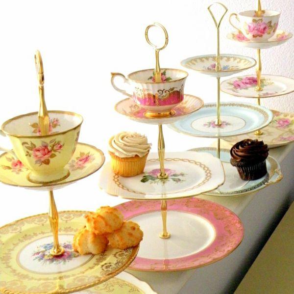 Wohin Mit Altem Geschirr teetassen neu verwenden 30 originelle bastelideen für sie