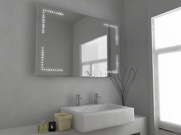 Zen Led Bathroom Mirror With Sensor Demister Pad And Shaver Socket Large Bathroom Bathroom Mirror Illuminated Mirrors Illuminated Bathroom Cabinets